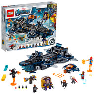LEGO Marvel Avengers Helicarrier 76153 LEGO Brick Building Toy with Marvel Avengers Action Minifigures (1,244 Pieces)