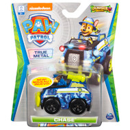 PAW Patrol, True Metal Chase Collectible Die-Cast Vehicle, Jungle Rescue Series 1:55 Scale