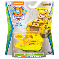 PAW Patrol, True Metal Rubble Collectible Die-Cast Vehicle, Jungle Rescue Series 1:55 Scale