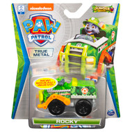 PAW Patrol, True Metal Rocky Collectible Die-Cast Vehicle, Jungle Rescue Series 1:55 Scale