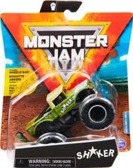 Monster Jam, Official Shaker Monster Truck, Die-Cast Vehicle, Arena Favorites Series, 1:64 Scale