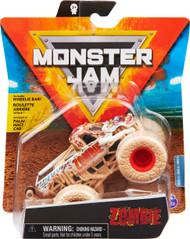 Monster Jam, Official Zombie Monster Truck, Die-Cast Vehicle, Elementals Trucks Series, 1:64 Scale