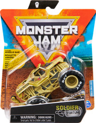 Monster Jam, Official Soldier Fortune Monster Truck, Die-Cast Vehicle, Legacy Trucks Series, 1:64 Scale