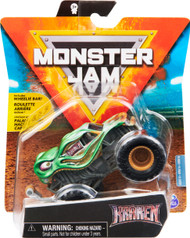 Monster Jam, Official Kraken Monster Truck, Die-Cast Vehicle, Arena Favorites Series, 1:64 Scale