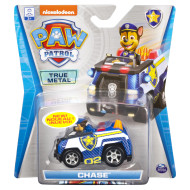 PAW Patrol, True Metal Chase Collectible Die-Cast Vehicle, Classic Series 1:55 Scale