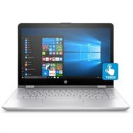 "HP Pavilion x360 14-dh0008ca 14"" Touchscreen 2 in 1 Notebook - Full HD - 1920 x 1080 - Intel Core i5-8265U Quad-core (4 Core) 1.60 GHz - 8 GB RAM - 256 GB SSD - Mineral Silver (Renewed)"