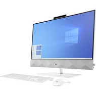 "HP Pavilion 27-d0000 27-d0057c All-in-One Computer - AMD Ryzen 7 4800H Octa-core (8 Core) 2.90 GHz - 12 GB RAM DDR4 SDRAM - 1 TB HDD - 256 GB M.2 PCI Express NVMe SSD - 27"" Full HD 1920 x 1080 Touchscreen Display - Desktop - (Renewed)"