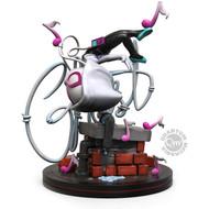 Marvel's Ghost Spider Gwen Stacy - QMx 3.5 Inch Everstone Q-Fig Elite Diorama