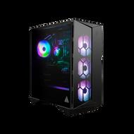 MSI Infinite RS (Full) Gaming Desktop, Intel Core i7-11700K, GeForce RTX 3070 Ti, 16GB RGB Memory, 1TB SSD + 3TB HDD, WiFi 6E, Liquid Cooling, USB Type-C, VR-Ready, Windows 10 Home Adv. (11TE-218US)