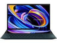 "ASUS ZenBook Duo 14 - Intel Core i7-1165G7 CPU, 14"" FHD NanoEdge Bezel Touch Display, NVIDIA GeForce MX450, 16GB RAM, 1TB PCIe SSD, tilting ScreenPad™ Plus, Windows 10 Pro, Celestial Blue UX482EG-XS74"