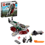 LEGO Star Wars Boba Fett's Starship 75312 Building Toy; Awesome Gift Idea for Kids (593 Pieces)