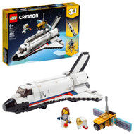 LEGO Creator 3in1 Space Shuttle Adventure 31117 Building Toy for Kids Who Love Creative Fun (486 Pieces)