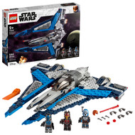 LEGO Star Wars Mandalorian Starfighter 75316 Building Toy for Kids (544 Pieces)