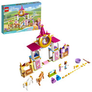 LEGO Disney Belle and Rapunzel's Royal Stables 43195 Building Toy for Creative Play (239 Pieces)