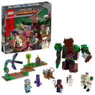 LEGO Minecraft The Jungle Abomination 21176 Building Toy Playset (487 Pieces)