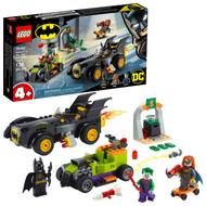 LEGO DC Batman: Batman vs. The Joker: Batmobile Chase 76180 Building Toy for Kids (136 Pieces)