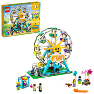 LEGO Creator 3in1 Ferris Wheel 31119 Building Toy with 5 Minifigures (1,002 Pieces)