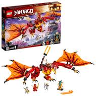 LEGO NINJAGO Legacy Fire Dragon Attack 71753 Ninja Building Toy (563 Pieces)