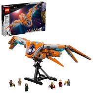 LEGO Marvel The Guardians' Ship 76193 Space Battleship Building Toy (1,902 Pieces)