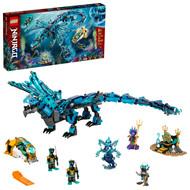 LEGO NINJAGO Water Dragon 71754 Building Toy with Posable Ninja Dragon Toy (737 Pieces)
