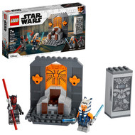LEGO Star Wars Duel on Mandalore 75310 Building Toy Featuring Ahsoka Tano and Darth Maul (147 Pieces)