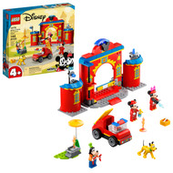 LEGO Disney Mickey and Friends – Mickey & Friends Fire Truck & Station 10776 Building Toy (144 Pieces)