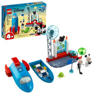 LEGO Disney Mickey and Friends Mickey Mouse & Minnie Mouse's Space Rocket 10774 Building Toy (88 Pieces)
