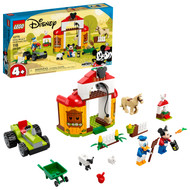 LEGO Disney Mickey and Friends Mickey Mouse & Donald Duck's Farm 10775 Building Toy (118 Pieces)