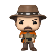 Funko POP! TV: Parks & Recreation - Hunter Ron with Chase