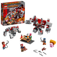 LEGO Minecraft The Redstone Battle 21163 Cool Action Building Playset for Kids (504 Pieces)
