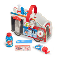 Melissa & Doug PAW Patrol Marshall's Wooden Rescue EMT Caddy (14 Pieces)