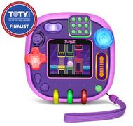 LeapFrog RockIt Twist Handheld Learning Game System, Purple