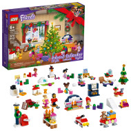 LEGO Friends Advent Calendar 41690 Building Toy; Christmas Countdown for Creative Kids (370 Pieces)