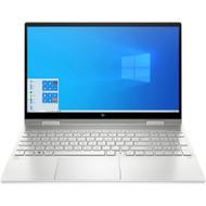 "HP ENVY x360 15-ed0000 15-ed0003ca 15.6"" Touchscreen 2 in 1 Notebook - Full HD - 1920 x 1080 - Intel Core i7 (10th Gen) i7-1065G7 Quad-core (4 Core) 1.30 GHz - 16 GB RAM - 1 TB SSD - Natural Silver Aluminum - (Renewed)"