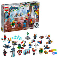 LEGO Marvel The Avengers Advent Calendar 76196 Building Toy for Fans of Super Hero Toys (298 Pieces)
