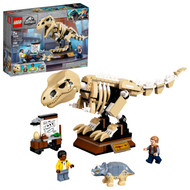 LEGO Jurassic World T. rex Dinosaur Fossil Exhibition 76940 Building Toy Playset (198 Pieces)