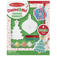 Melissa & Doug Decorate-Your-Own Christmas Ornaments - 2-Pack