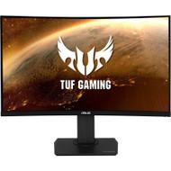 "ASUS TUF Gaming 32"" 2K HDR Curved Monitor (VG32VQ) - WQHD (2560 x 1440), 144Hz, 1ms, Extreme Low Motion Blur, Speaker, Adaptive-Sync, FreeSync Premium, VESA Mountable, DisplayPort, HDMI"