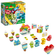 LEGO DUPLO Classic Creative Birthday Party 10958 Imaginative Building Fun for Toddlers (200 Pieces)