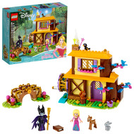 LEGO Disney Aurora's Forest Cottage 43188 Great Sleeping Beauty Building Toy for Kids (300 Pieces)