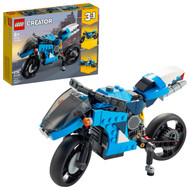 LEGO Creator 3in1 Superbike 31114 Motorcycle Building Toy (236 Pieces)