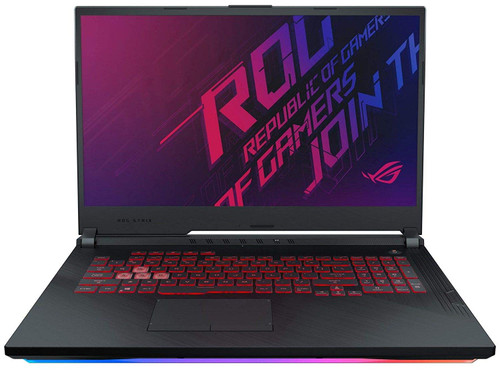 "ASUS ROG Strix G (2019) Gaming Laptop, 17 3"" 144Hz IPS Type Full HD, NVIDIA  GeForce GTX 1660 Ti, Intel Core i7-9750H, 16GB DDR4, 512GB PCIe NVMe SSD,"