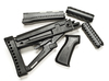 Archangel® OPFOR® Series Buttstock, Forend, Pistol Grip Complete set for the AK-47® / AKM - Black Polymer