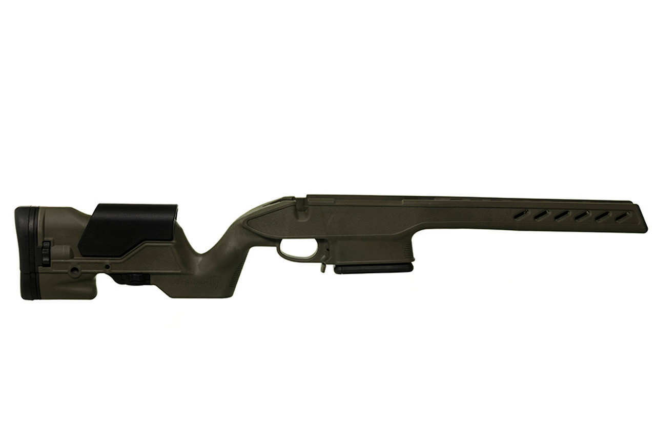 Archangel® 1500 Precision Elite Stock for the Howa™ 1500 & Weatherby® Vanguard® Long Action (Standard Cal) - Olive Drab Polymer includes AASLA5 (7) Rd with a (5) Rd Limiter TYPE C Magazine
