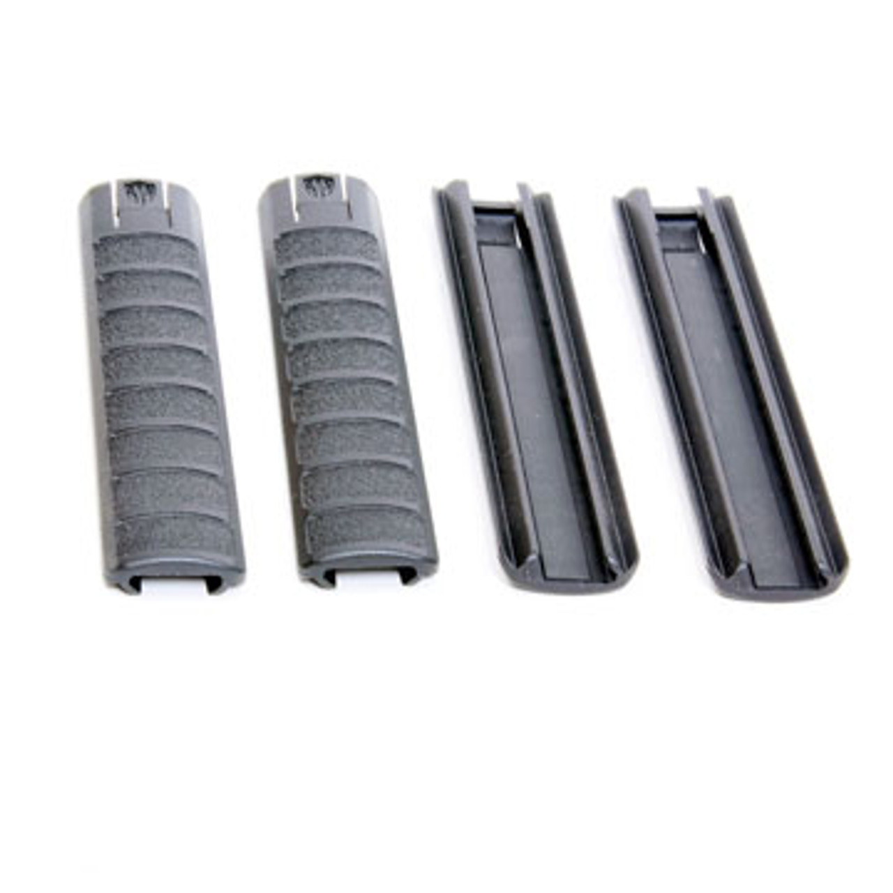 Archangel® Extended Picatinny Rail Cover (4-Pack) - Black Polymer