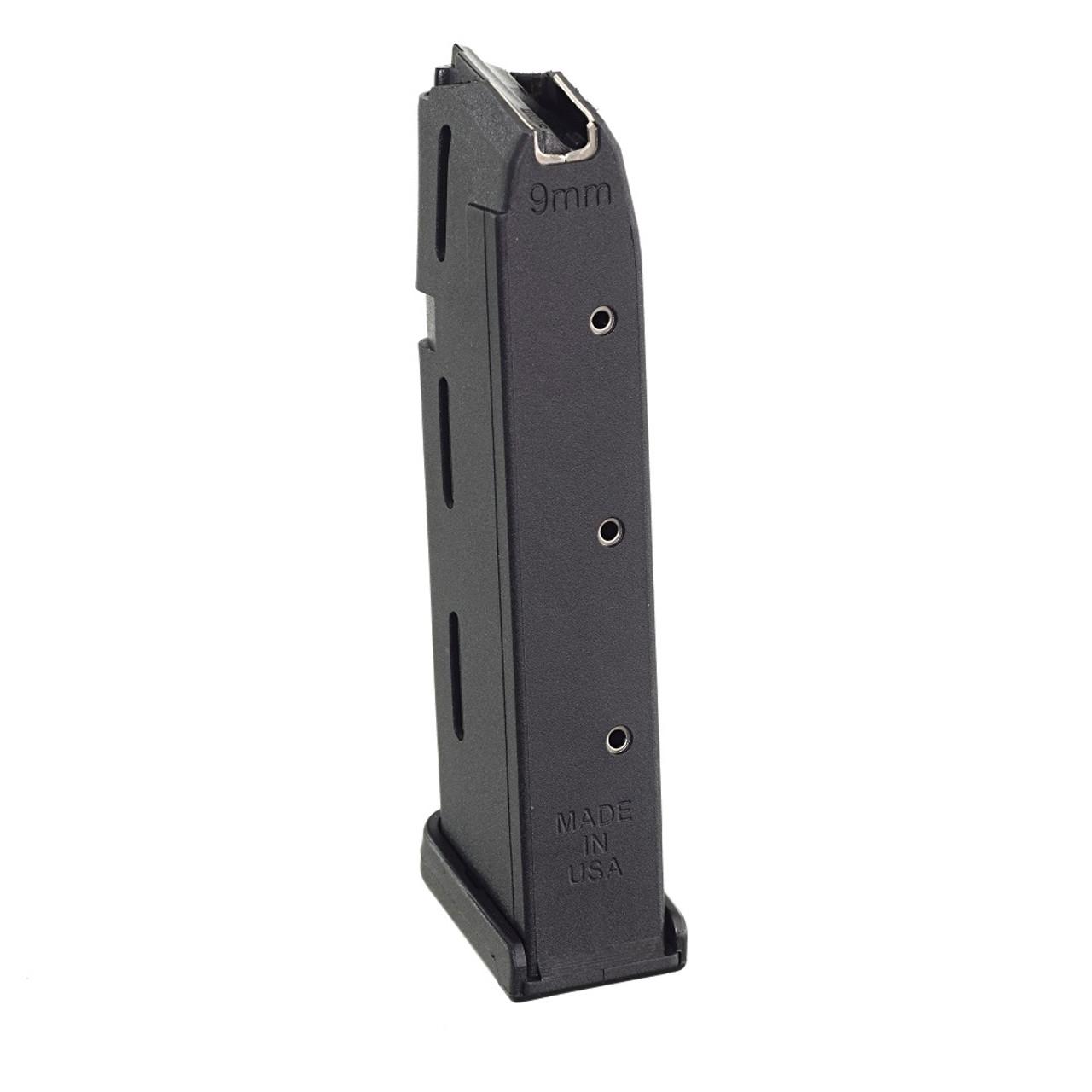 Fits the Glock® Model 17, 19, & 26 9mm (10) Rd - Black Polymer