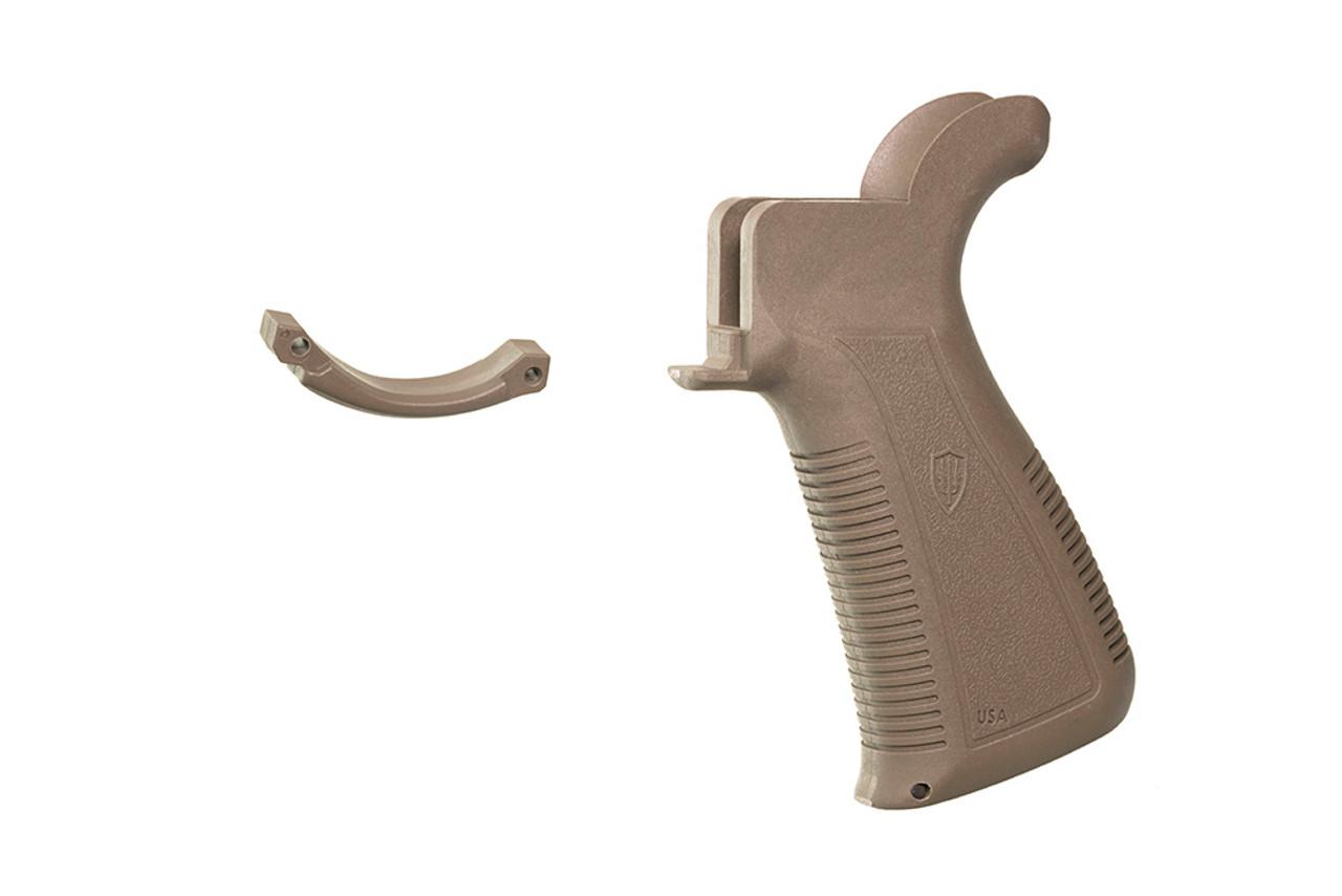 Archangel® AR-15® Pistol Grip includes Bonus Trigger Guard - Flat Dark Earth Polymer