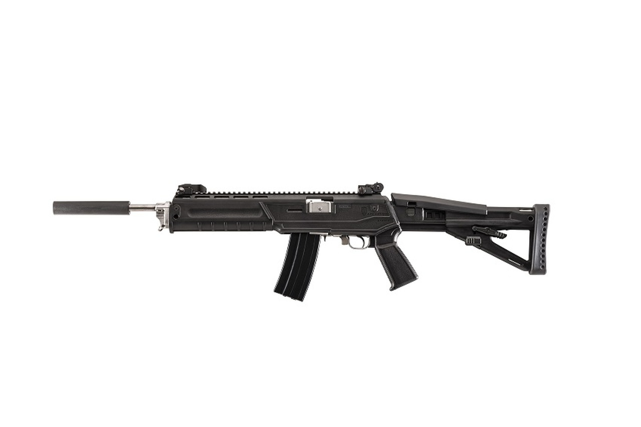 Archangel® Sparta® Pistol Grip Conversion Stock for the Ruger® Mini-14® /  Mini Thirty® / 6 8 Ranch Rifle - Black Polymer