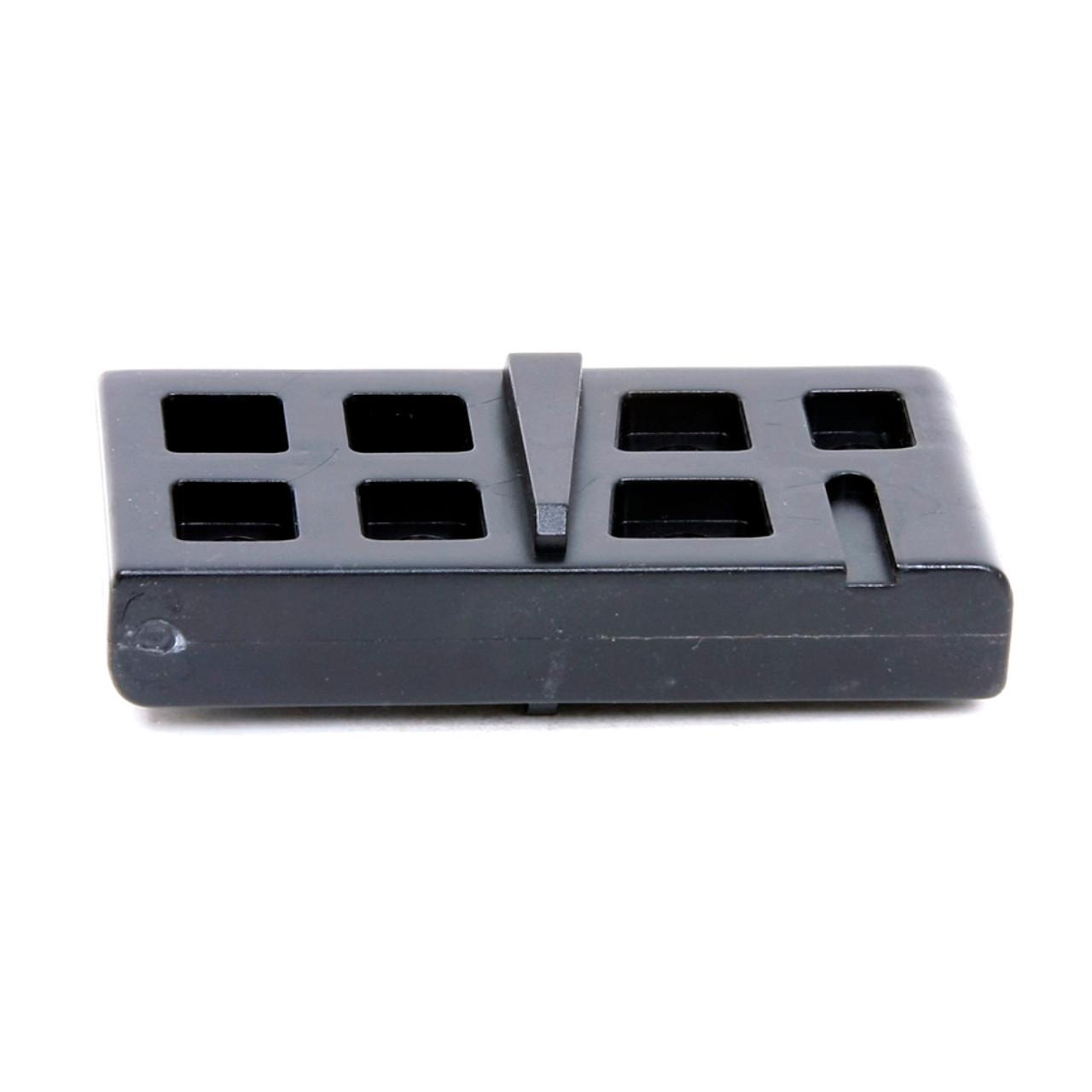 AR-15® / M-16 Lower Receiver Magazine Well Vise Block - Black Polymer