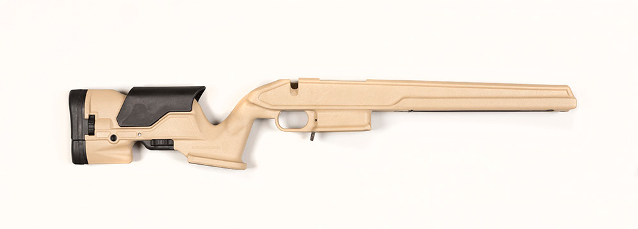 Archangel® 1500 Precision Stock for the Howa™ 1500 & Weatherby® Vanguard® - Desert Tan Polymer includes AA308 (10) Rd Blue Steel TYPE A Magazine